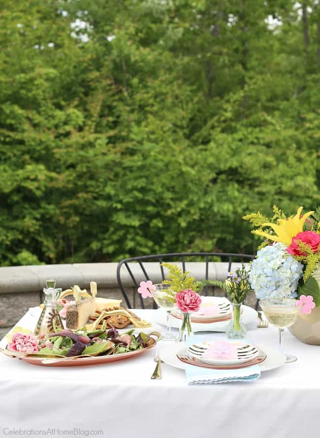 Mothers day ideas for a ladies luncheon.