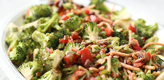 Savory & Sweet Broccoli Salad