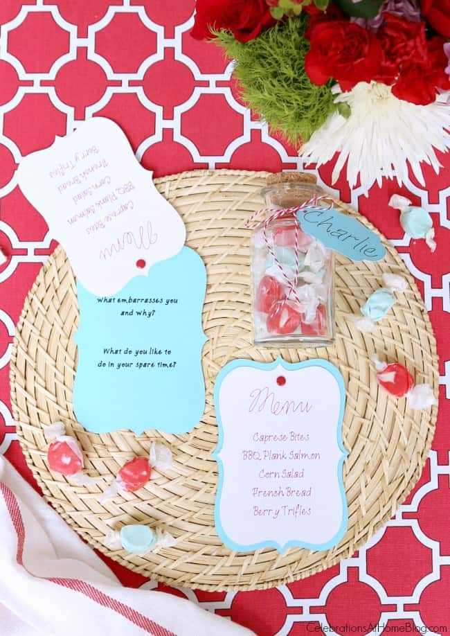 Make these easy projects for your summer dinner party tablescape.