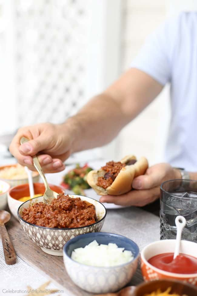 hot dog roast toppings