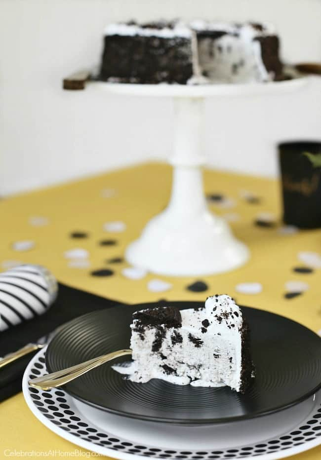 Host a Simple Celebration at Home and let them eat cake!