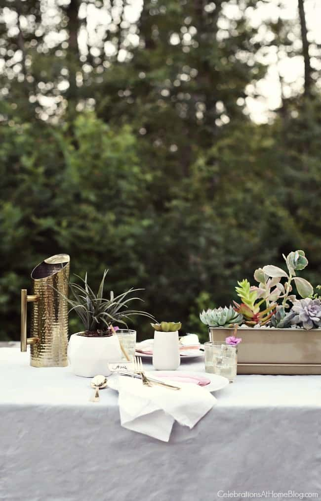 Host a sunset supper party on the patio with inspiration, ideas, dinner menu, and recipes found here. Make the most of your summer entertaining!