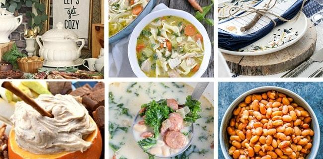 Comfort Food Menu Plan