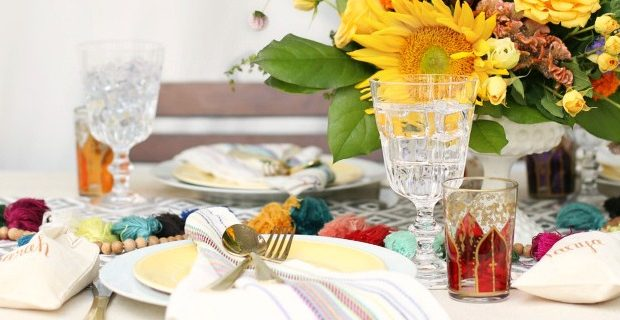 Late Summer Dinner Party with Iced Tea Bar