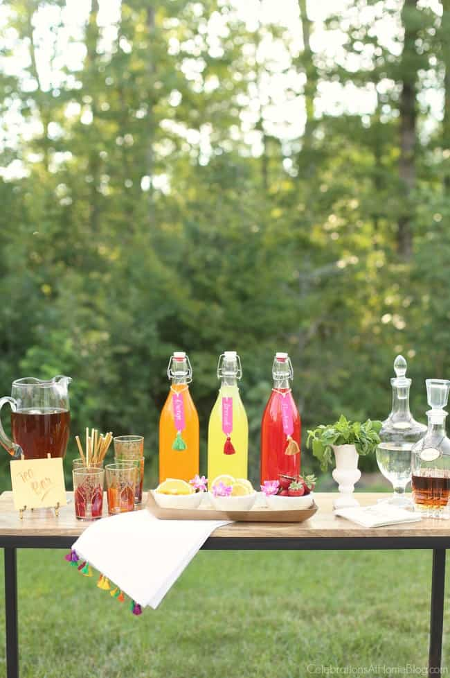 Iced Tea Bar ideas