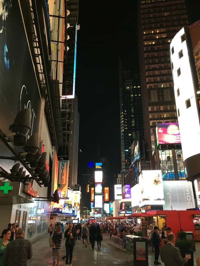 Our Trip to New York City - Times Square