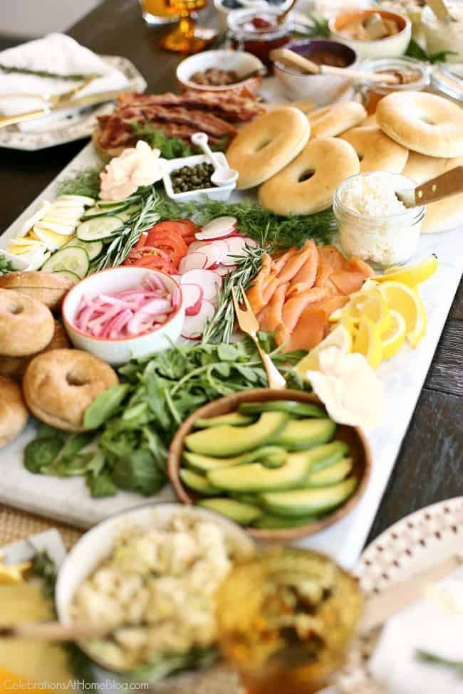Host the Ultimate Bagel Bar Brunch with these ideas, tips, and images to inspire you. I've even provided a printable checklist for you to print out and shop with.