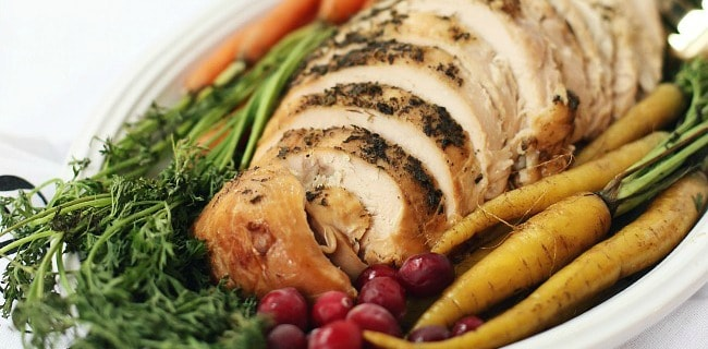 Herbed Slow Cooker Turkey Breast Recipe