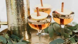 Apple Pie Cocktail Pitcher Drink