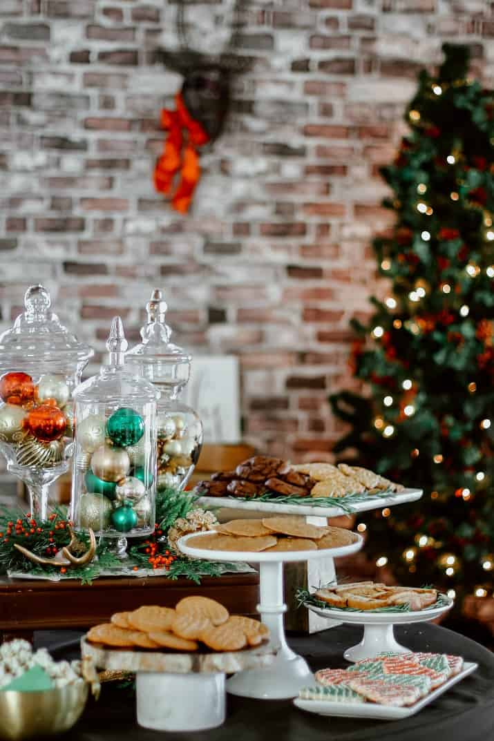 Christmas cookie exchange party ideas and recipes