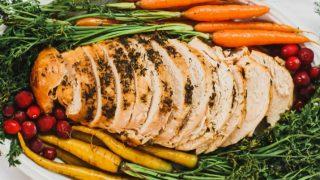 Easy Herbed Slow Cooker Turkey Breast Recipe
