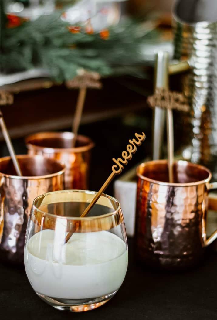 eggnog cocktail bar
