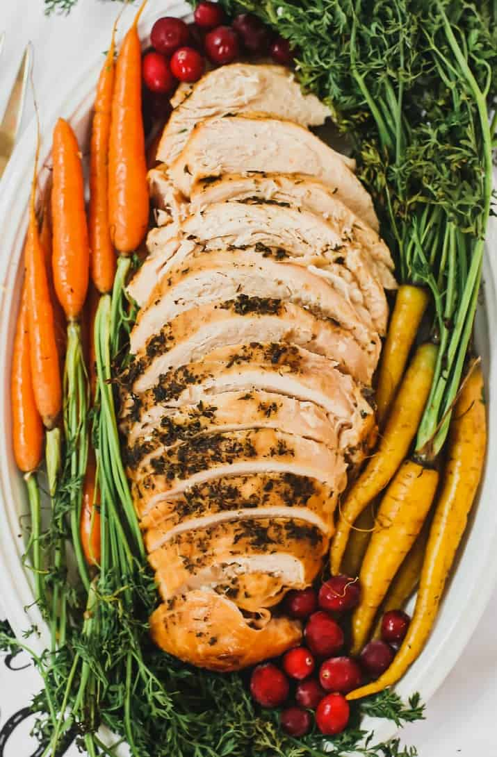 herb slow cooker turkey breast
