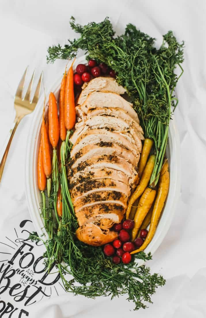 herb seasoned slow cooker turkey breast recipe