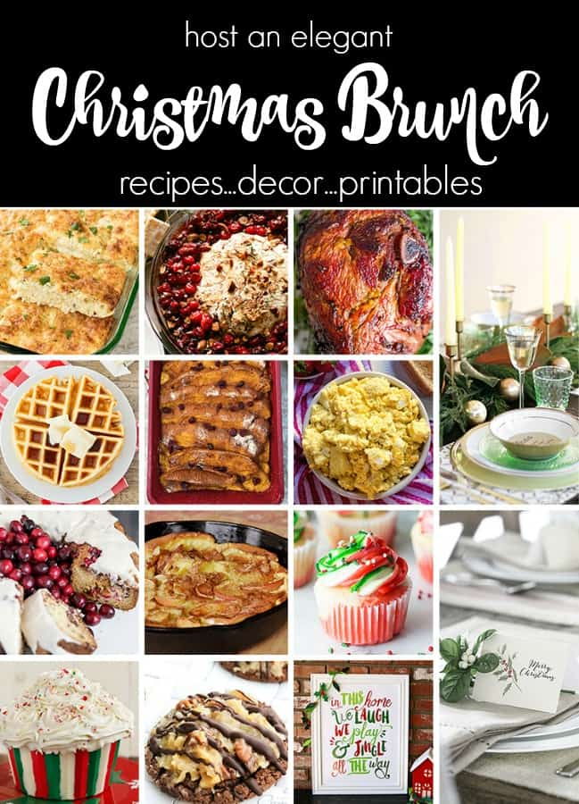 Plan an Elegant Christmas Brunch