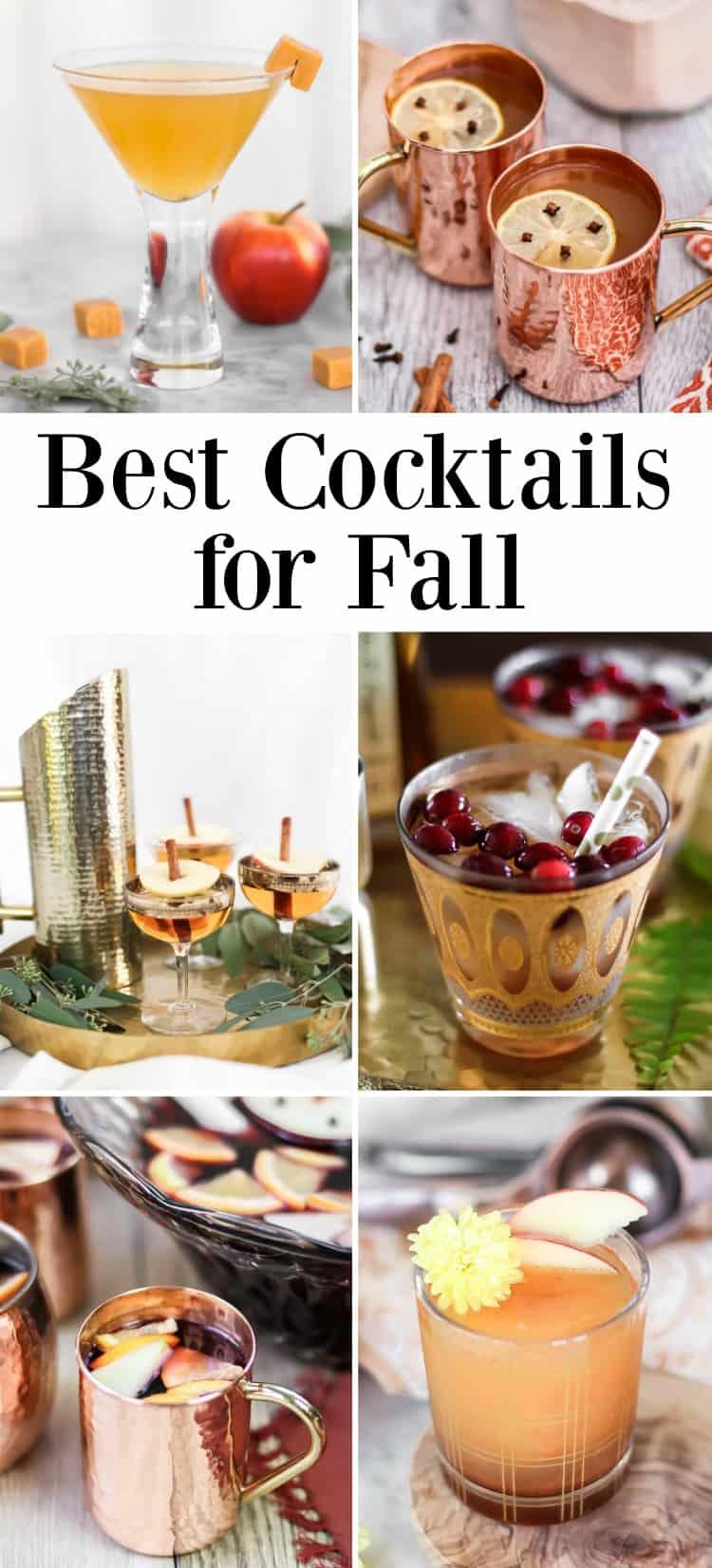 best autumn cocktails