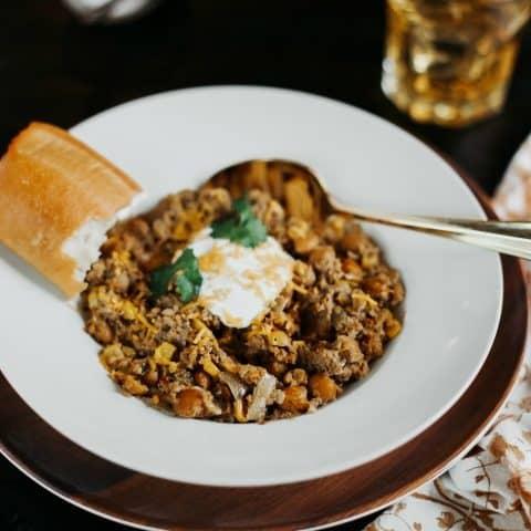 sausage chili slow cooker recipe