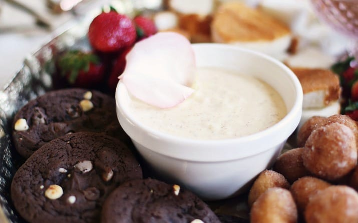 Cheesecake Fondue Recipe