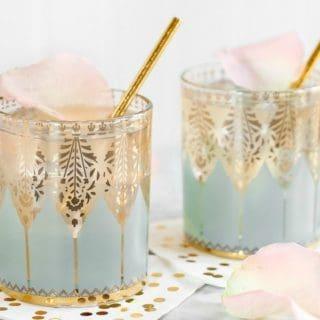 Elderflower Gin Fizz Cocktail recipe