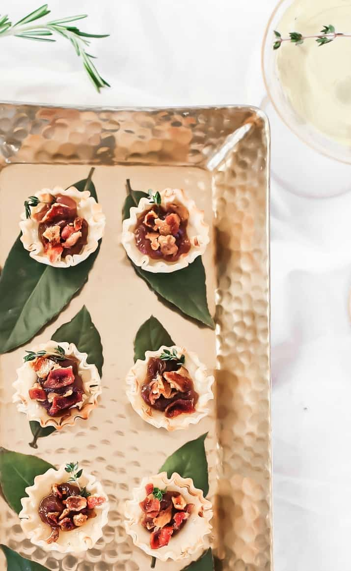 brie party appetizer cups