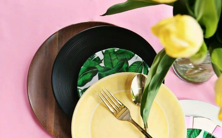 1 Tropical Plate Styled 4 Ways