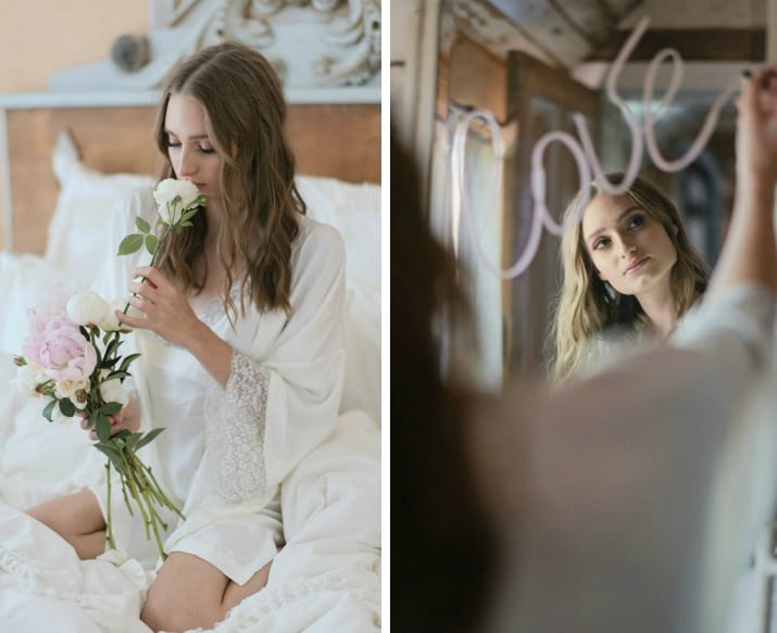 romantic wedding day ideas-wake up to flowers