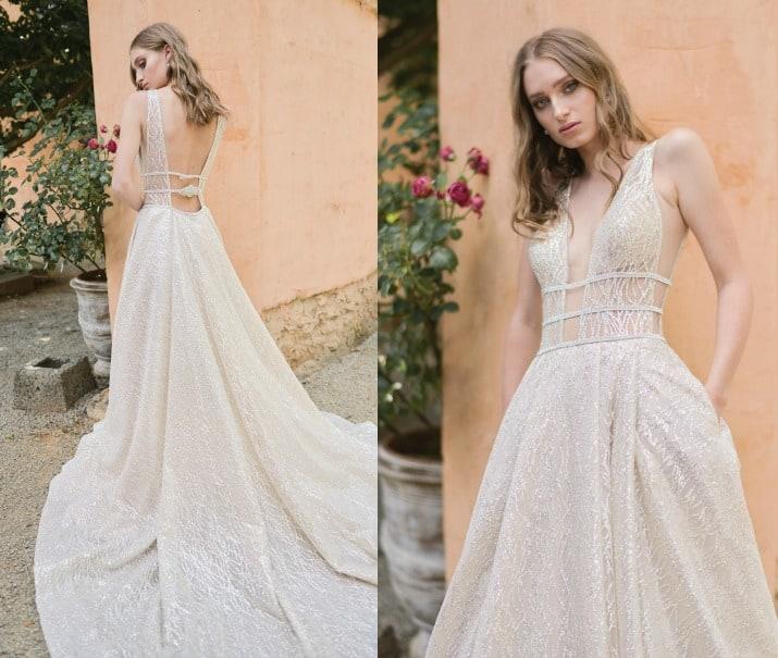 romantic wedding day ideas-bride in dress