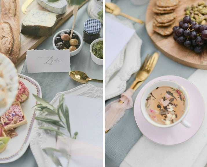 romantic wedding day ideas-tabletop details
