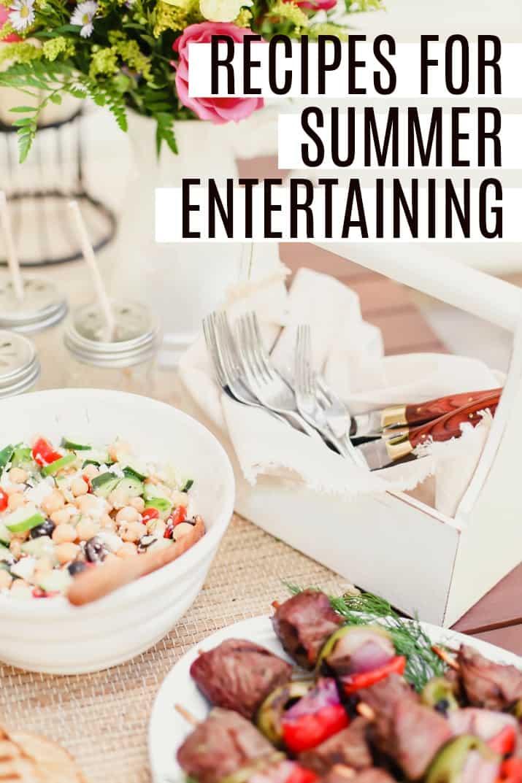 summer buffet recipes for entertaining