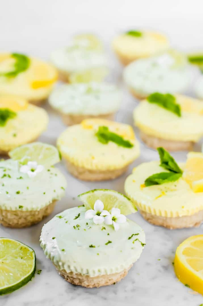 cheesecake tartlets