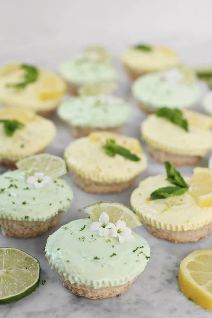 lemon lime tartlets recipe