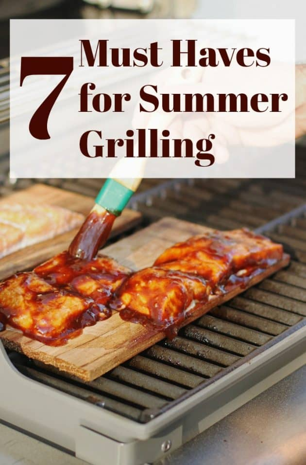what you need for summer grilling