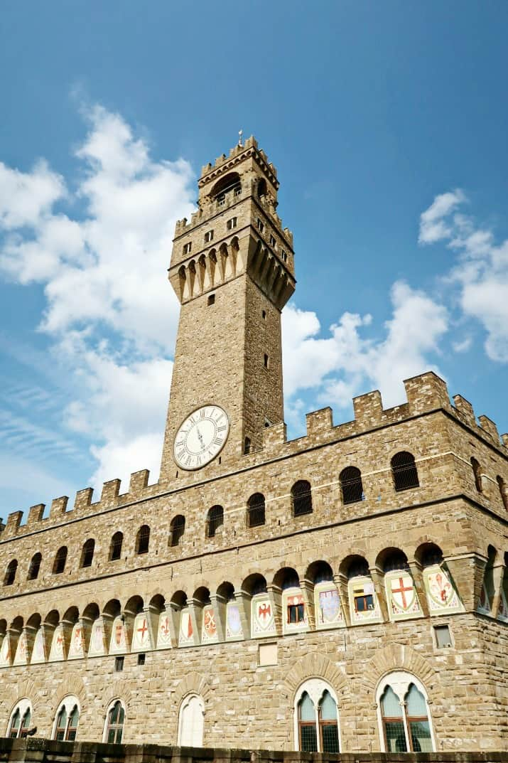 5 Days in Florence - palazzo vecchio tower