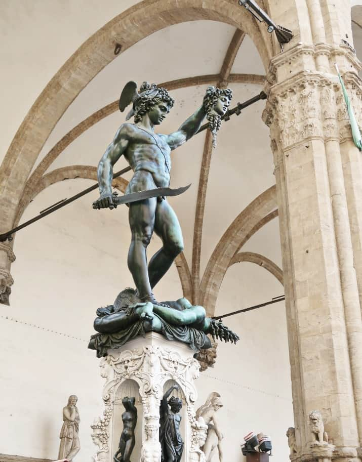 5 Days in Florence, Italy - Perseus with head of Medusa