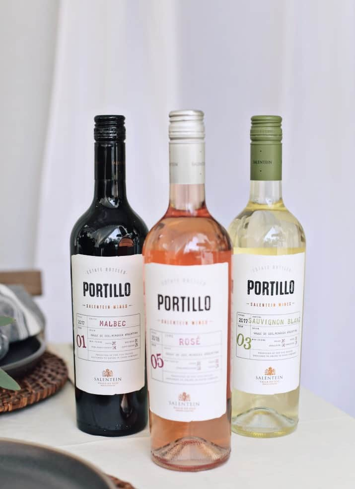laid back dinner party wines