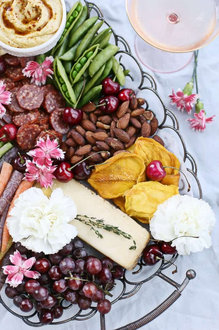 Turn a Party Cheese Board into a Meal with these items