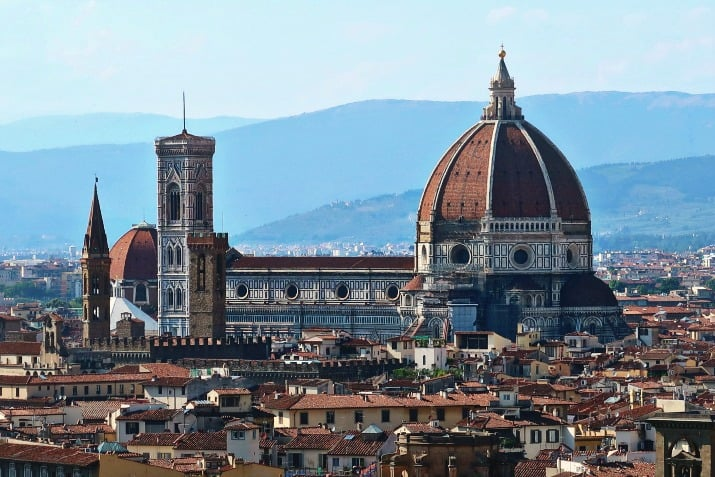 5 Days in Florence, Italy - Duomo view