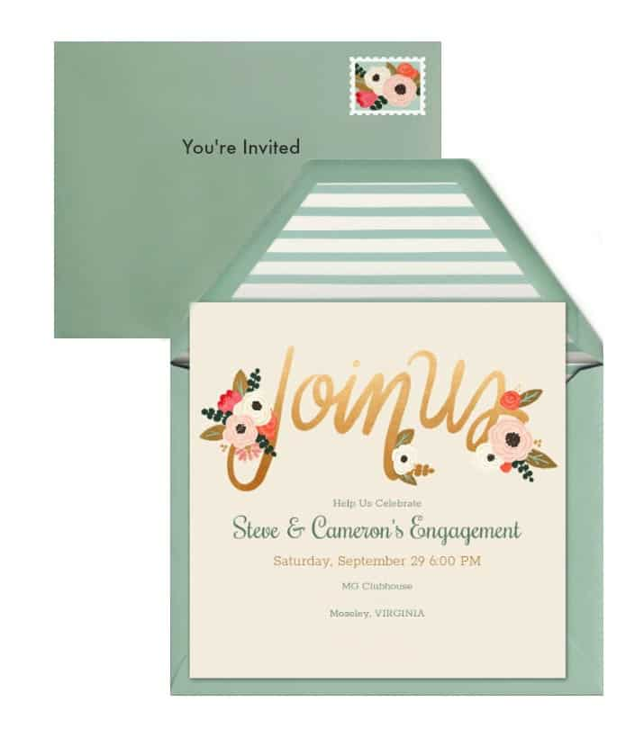 5 Ways to Make Your Event Feel Special starting with invitations from Evite