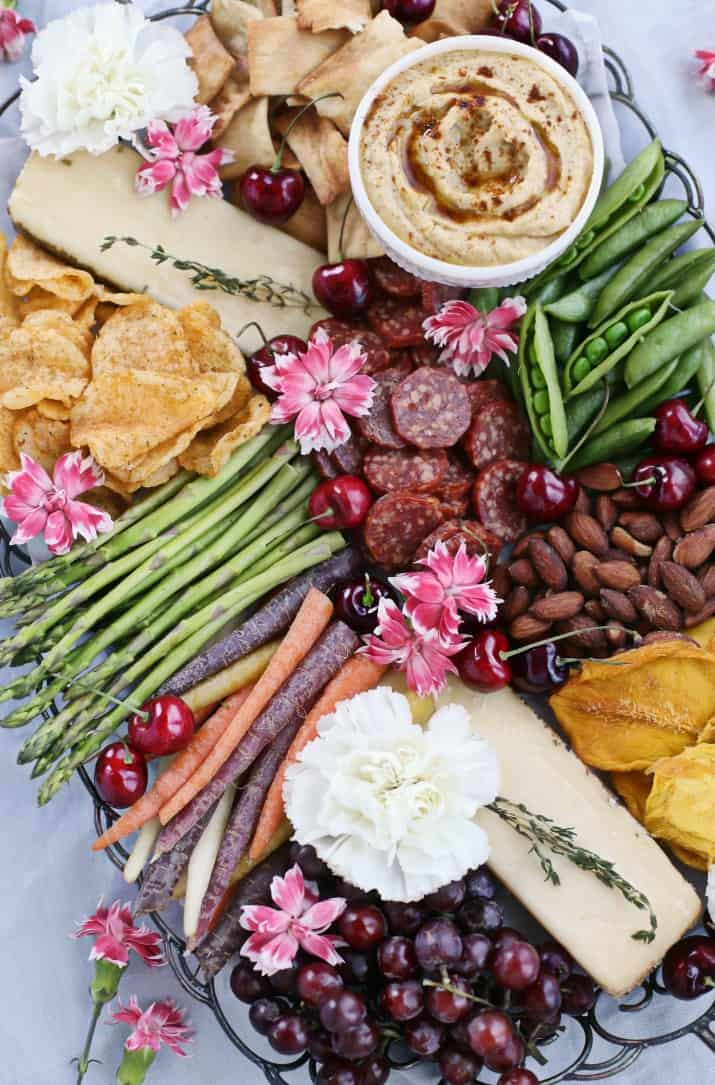 turn a Party Cheese Board into a Meal for stylish entertaining