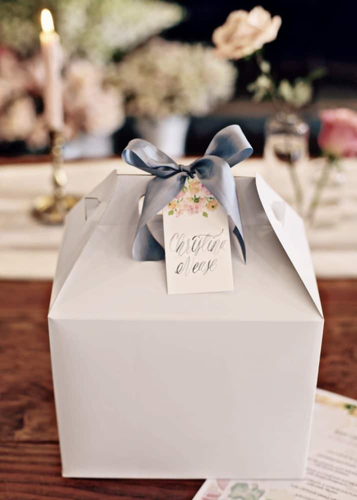 5Ways to Make Your Event Feel Special including personalized favors for guests