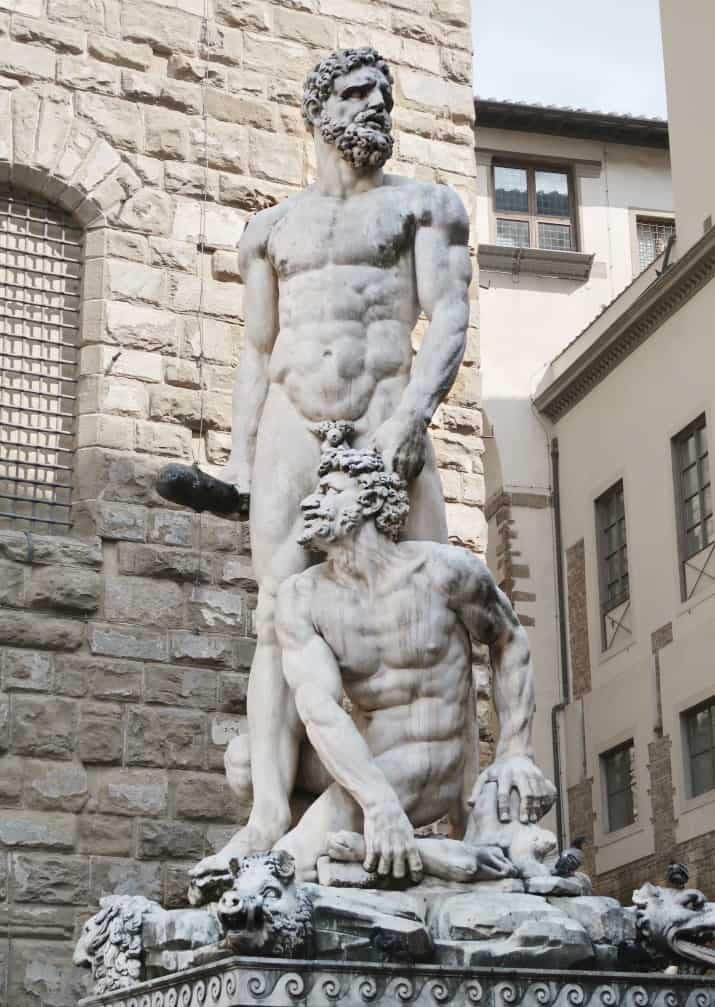 5 Days in Florence, Italy - Hercules and Cacus
