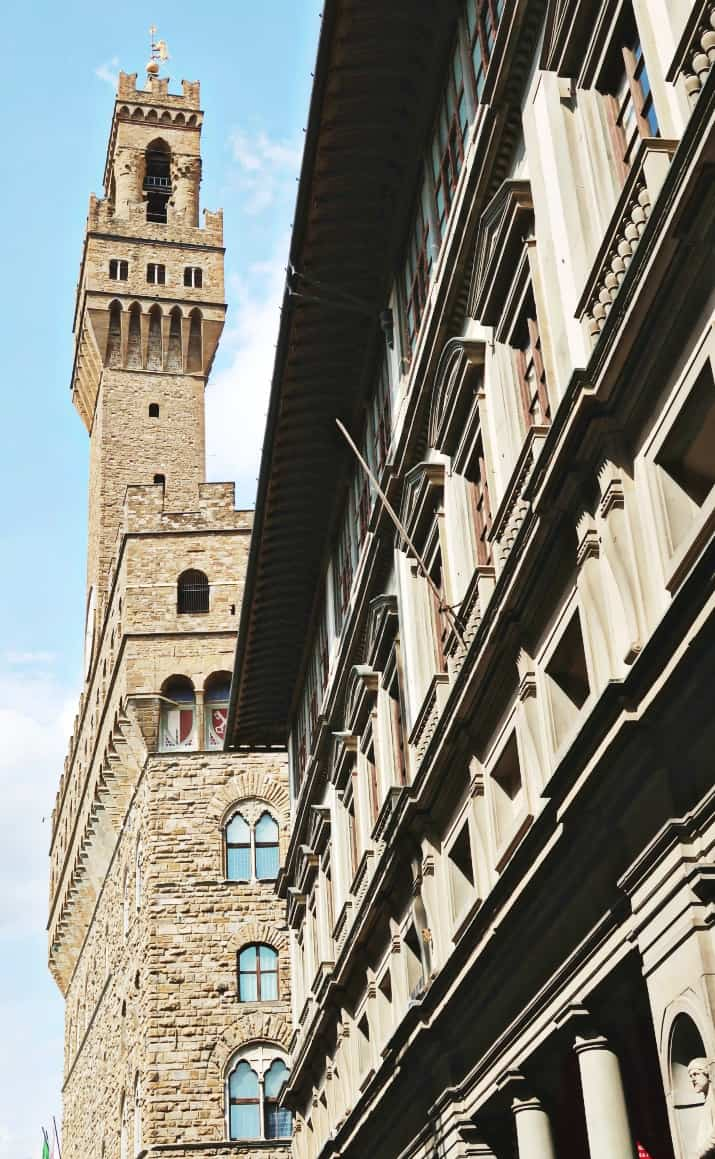 5 Days in Florence, Italy - palazzo vecchio tower