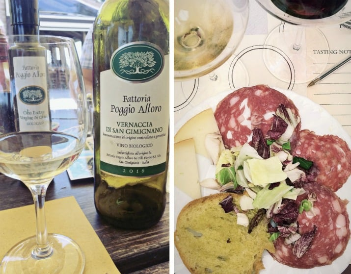 A Day Wine Tasting tour in Tuscany, wine and food