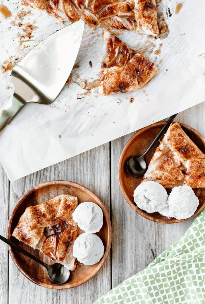 recipe for apple galette