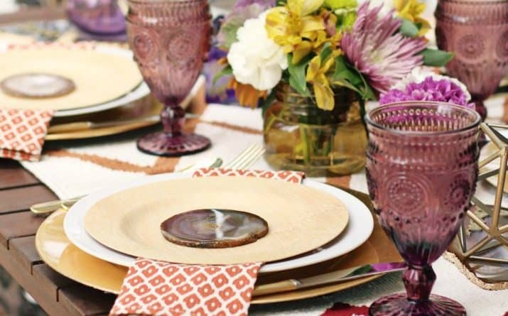 This Fall Tabletop Design & Dinner Party Menu Is the perfect way to Welcome the Season