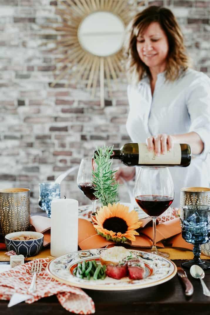 how to host an Italian dinner party