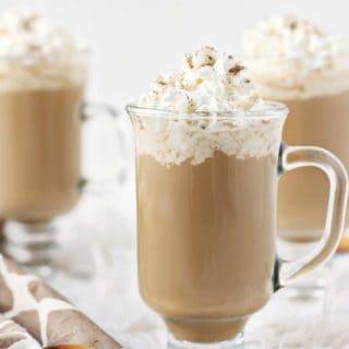 Pumpkin Spice Kahlúa Coffee Recipe with 3 glasses