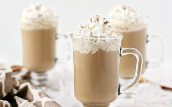 Pumpkin Spice Kahlúa Coffee Recipe with 3 glasses