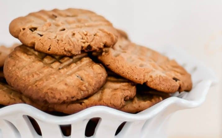 BEST Double Chip Peanut Butter Cookie Recipe