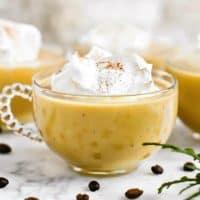 Coffee Eggnog Punch Recipe